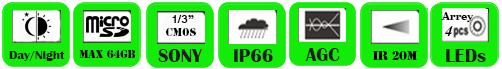 IP Camera WAP-1024WF/ WAP-1030WF