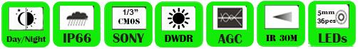 IP Camera WAL-1325H/ WAL-2425H (P)