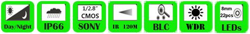 IP PTZ Camera WNP-8020XC/WNP-8030XC