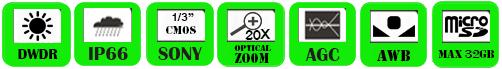 IP PTZ Camera WND-4020RZ/ WND-4020RX