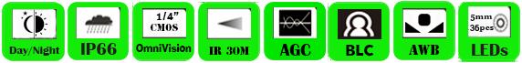 IP Camera WCE-3610EI (P)/ WCE-3613EI (P)